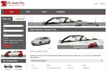 PG Auto Pro Software - auto script,auto software,automobile classifieds,car classified script,car classifieds script,car script,car software - Powerful Auto Classified Software. Requires no technical skills to administer.